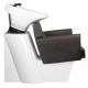 Waschsessel Rückwärtswaschsessel Friseurwaschbeckenbraun