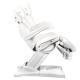 Fußpflegestuhl elektrisch 872 weiß