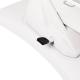 Kosmetikliege elektrisch drehbar weiß