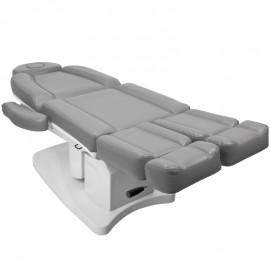 Fußpflegestuhl elektrisch 708 grau