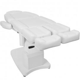 Fußpflegestuhl elektrisch 708 weiß
